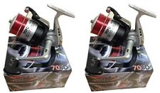 LINEAEFFE SEA FISHING VIGOR SILK 70 BEACH / PIER REELSWITH LINE REEL X 2
