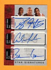DWIGHT HOWARD IGUODALA GORDON SMITH TELFAIR 2004-05 SP 5 STAR AUTOGRAPH RC # /10