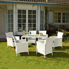 Terrassenmöbel wetterfest weiß  Gartenmöbel in Weiß | eBay
