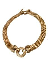 St. Germain Onmi Dramatic Gold Statement Necklace With Crystals