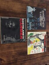 3 Vintage LP's CARMEN LA BOHEME Andre Kostelanetz & his Orchestra