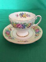ROYAL STANDARD BONE CHINA ENGLAND CUP & SAUCER