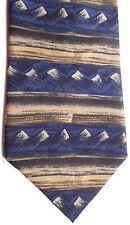 "Van Heusen Men's Silk Tie 58.5"" X 4"" Multi-Color Horizontal Striped"