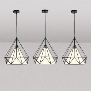 Kitchen Pendant Light Bedroom Lamp Black Chandelier Lighting Homr Ceiling Lights