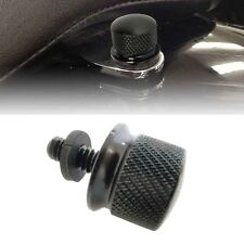 Motorcycle Billet Rear Seat Mount Bolt Knurled Screw For Harley 1/4""