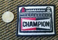 Vintage Champion Auto Parts Spark Plug Uniform dragster racing Rat Fink Patch