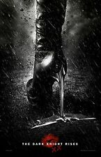 """The Dark Knight Rises movie poster  : 11"""" x 17"""" inches - Catwoman (Heel)"""