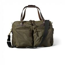 Filson 70328 48 Hour Oil Finish Tin Cloth Duffle Bag Otter Green