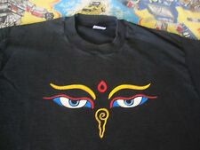 Vintage The Mystical Arts Of TIBET Drepung Loseling Tour PSYCHIC TV T Shirt L