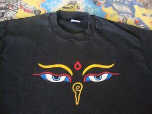 Vintage The Mystical Arts Of TIBET Drepung Loseling Tour PSYCHIC TV T Shirt L