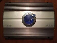 Planet Audio amplifier, Old School VX2002, 200 Watts x 2