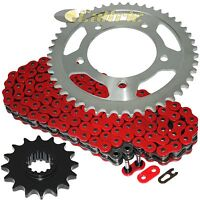 Red O-Ring Drive Chain & Sprocket Kit for Honda Xl1000V Varadero 1999-2013