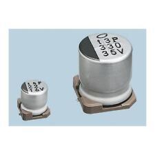 10 x Nichicon Aluminium Electrolytic Capacitor 220uF 10V dc, Surface Mount