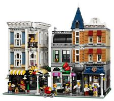 Assembly Square Modular Building Blocks 4002 Pcs - MOC 10255 DHL