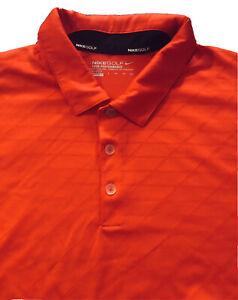 NWOT Mens NIKE TOUR PERFORMANCE Dri Fit Preshrunk Gray SwooshPolo Golf Shirt XXL