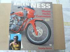 HARLEY-DAVIDSON ARLEN NESS MASTER HARLEY CUSTOMIZER TIMOTHY REMUS 1990