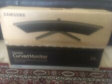 """Samsung LC24F396FHUXEN Full HD 24"""""""" Curved LED Monitor Brand New- Line on screen"""