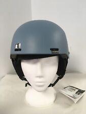 Brand New Salomon Sport Helmet - Brigade - Smoke Blue - Medium