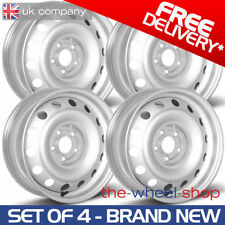 """16"""" Set of 4 Renault Master 2010-2018 Full Size Spare Steel Wheels"""