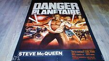 DANGER PLANETAIRE  the blob ! steve mcqueen  affiche cinema