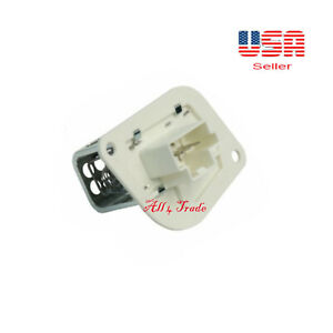 Ignition HVAC Blower Motor Resistor Fit:RAM 1500 VAN 2500 VAN 3500 VAN 1999-2003