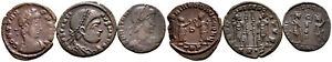 Group of 3 Roman Ae3 Folles #RB 7857