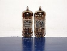 2 x 12AT7/ECC81 Mullard/Dynascan Tubes*Strong Testing*Matching Codes