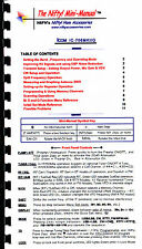 Icom IC-706MKIIG Nifty Quick Reference Guide IC-706MKII