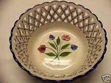 Decorative Hand Painted Floral Bowl Made Portual New