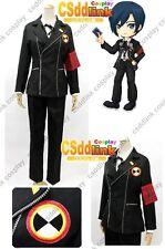 Persona 3 Minato Arisato Gekkoukan Cosplay Costume only jacket and arm-band