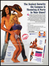 SORORITY HOUSE PARTY__Original 1994 Trade print AD__AVALON ANDERS__APRIL LERMAN