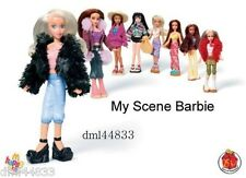 * MIP 2004 McDonalds My Scene Barbie Mint Set - Lot of 8