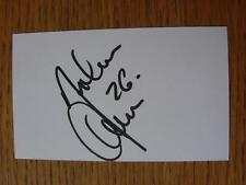 50's-2000's Autographed White Card: Andreason, Leon - Fulham, Denmark