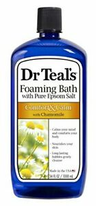 Foaming Bath Chamomile 34 Fluid Ounce Comfort and Calm Chamomile Essential Oils