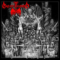Goatblood - Adoration of Blasphemy and War, Black Edition (Ger), LP (Archgoat)