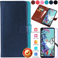 For LG Q70 Luxury Shockproof PU Leather Wallet Card Flip Stand Case Cover