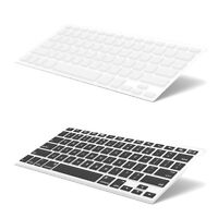 """2X Premium Ultra Thin Keyboard Protector for MacBook Pro 13"""" 15"""" 2016 2017 2018"""