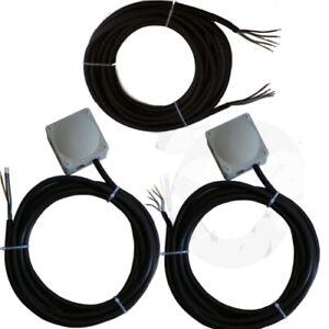 Montageset für Klimaanlageninstallation Single Split 5x4,0mm² 3Phasig