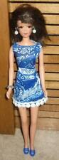Blue Batik w/Accessories for Francie & Friends Doll