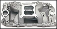 Edelbrock 7561 Performer RPM Air Gap Intake Manifold BBC Chevy Oval Port #7561