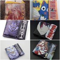 Mutli Style Anime Wallet Free Tracking New Mens Boys Cartoon Superhero