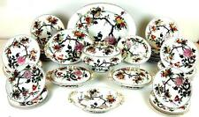 EXCEPTIONAL PART DINNER SERVICE.ASHWORTH IRONSTONE CHINA. 45 PIECES. ENGLAND.XIX