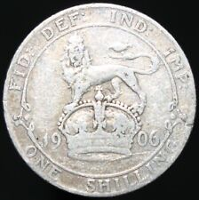 1906 | Edward VII One Shilling | Silver | Coins | KM Coins