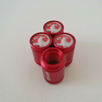 VAUXHALL METAL SPORTS Valve Dust caps all Cars 7 COLORs UK DISPATCH ASTRA red