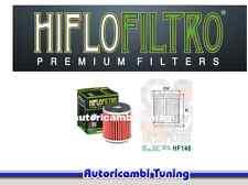 FILTRO DE ACEITE HIFLO HF140 MOTORRAD Hyosung TE 4T - 125 cc - años: 2011 - 2013