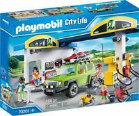 Playmobil City Life Große Tankstelle&Auto Ergänzungs/Spielset Weihnachtsgeschenk