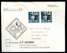 Netherlands 1963 Cover To Germany #C5599