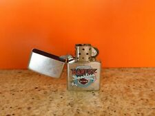 "Zippo Cigarette Lighter - Harley Davidson Motorcycles - ""Live Free - Ride Free"""