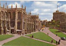Postcard -    ST GEORGES CHAPEL, WINDSOR CASTLE     ( REF  A9)