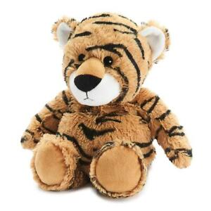 Warmies Microwavable Heatable Soft Toy Tiger Lavender Scent Relax Sleep Aid